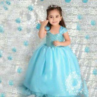 Đầm công chúa Elsa Frozen 17