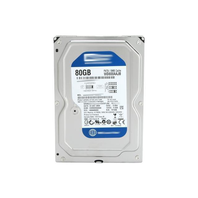 Ổ cứng máy tính để bàn 80GB (Kèm cáp SATA)