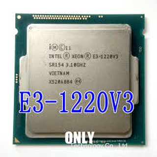 Cpu Xeon e3 1220 v3 – e3 1231 v3 + kem