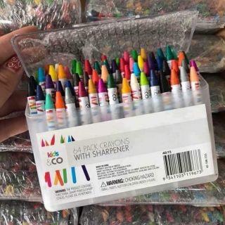 Set màu 64 món, hàng xuất Úc.