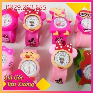 (Sale Khủng) Đồng hồ đập tay dành cho trẻ em (cả bé trai và bé gái) nhiều mẫu siêu đáng yêu thumbnail
