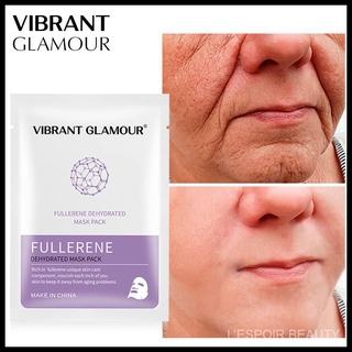 Mặt nạ VIBRANT GLAMOR Fullerene oligopeptide dạng bột đông khô giữ ẩm và giảm vết thâm mụn
