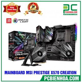 MAINBOARD MSI PRESTIGE X570 CRATION ( AM4 E-ATX 4XDDR4 ) thumbnail