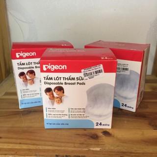 (bhav) Hộp 24 Miếng Lót Thấm Sữa Pigeon Hàng chính hãng, Giá Siêu Rẻ thumbnail