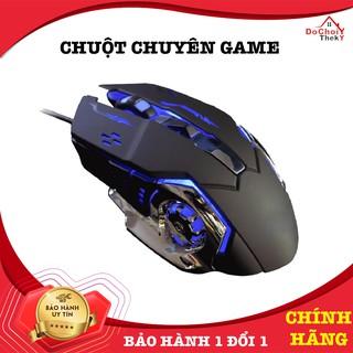Chuột Game Thủ Chuyên Nghiệp Siêu Bền Dành Cho Quán Game detek G502 thumbnail