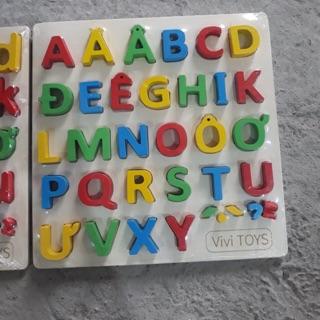 Bảng chữ nổi Tiếng Việt