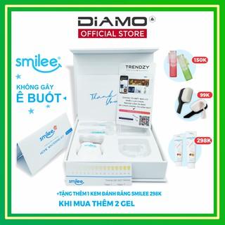 [2 Quà🎁🎁 + Freeship + Sale 25%] Tẩy trắng răng tại nhà Smilee chính hãng – Made in USA – Tẩy trắng 3-6 tone sau 7 ngày