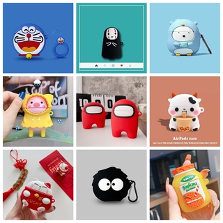 For inPods 12 TWS Silicone Wireles Earphone Case For i100 i27 i25 i24 i23 i13 i12 i11 i10 i9s Cute Cartoon Protective Case