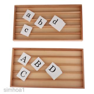 Funny Upper & Lower Case Letter Cognition Cards for Kids Learning Supplies