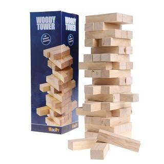 Rút gỗ thanh mộc Woody Tower ( Loại đẹp, nhẵn, khít 100%)