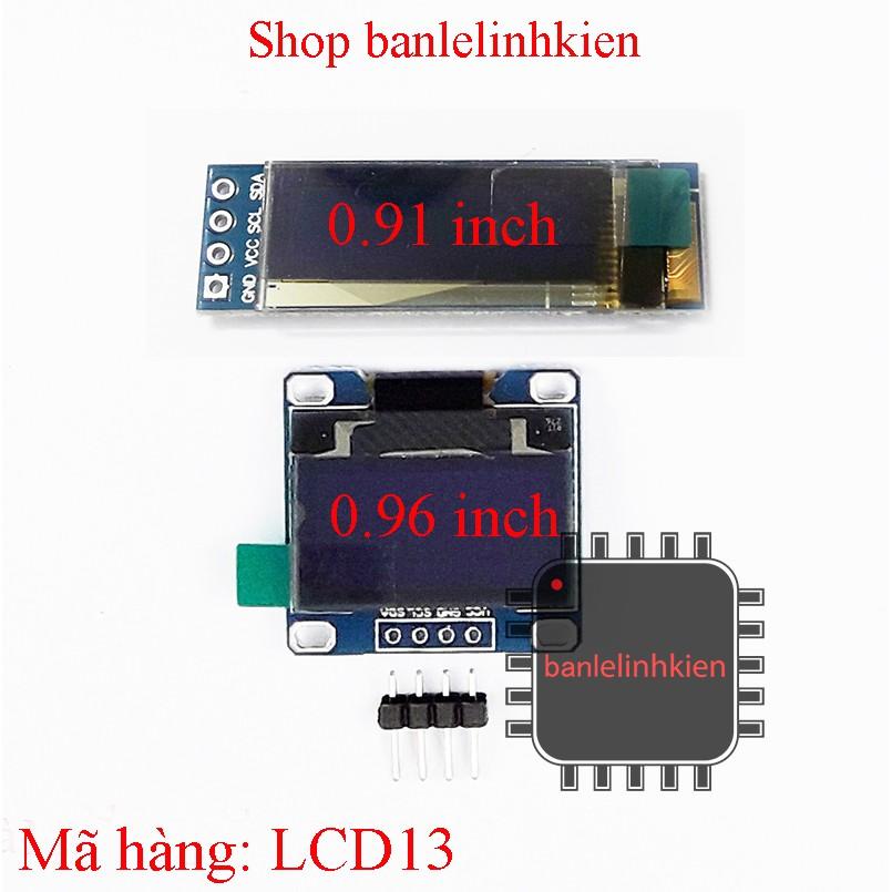 Màn hình OLED giao tiếp I2C các kích thước - 3363342 , 581976139 , 322_581976139 , 93000 , Man-hinh-OLED-giao-tiep-I2C-cac-kich-thuoc-322_581976139 , shopee.vn , Màn hình OLED giao tiếp I2C các kích thước