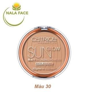 Phấn tạo khối CATRICE Sun Glow Matt Bronzing Powder Màu 30 - Medium Bronze thumbnail