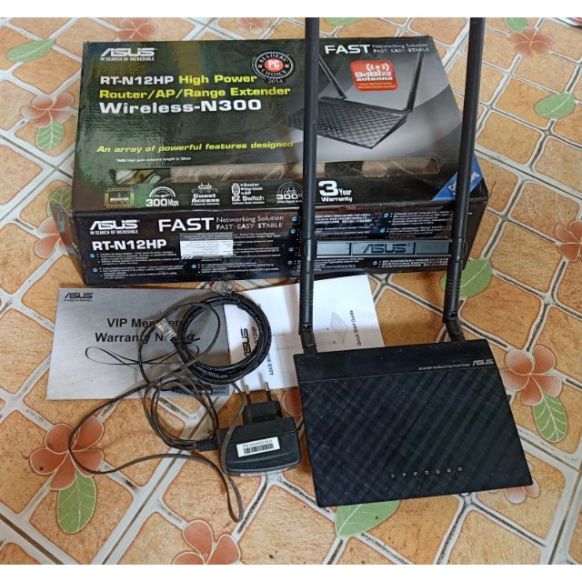 Asus Router Wifi 2.4GHz มือสองประกันเหลือ