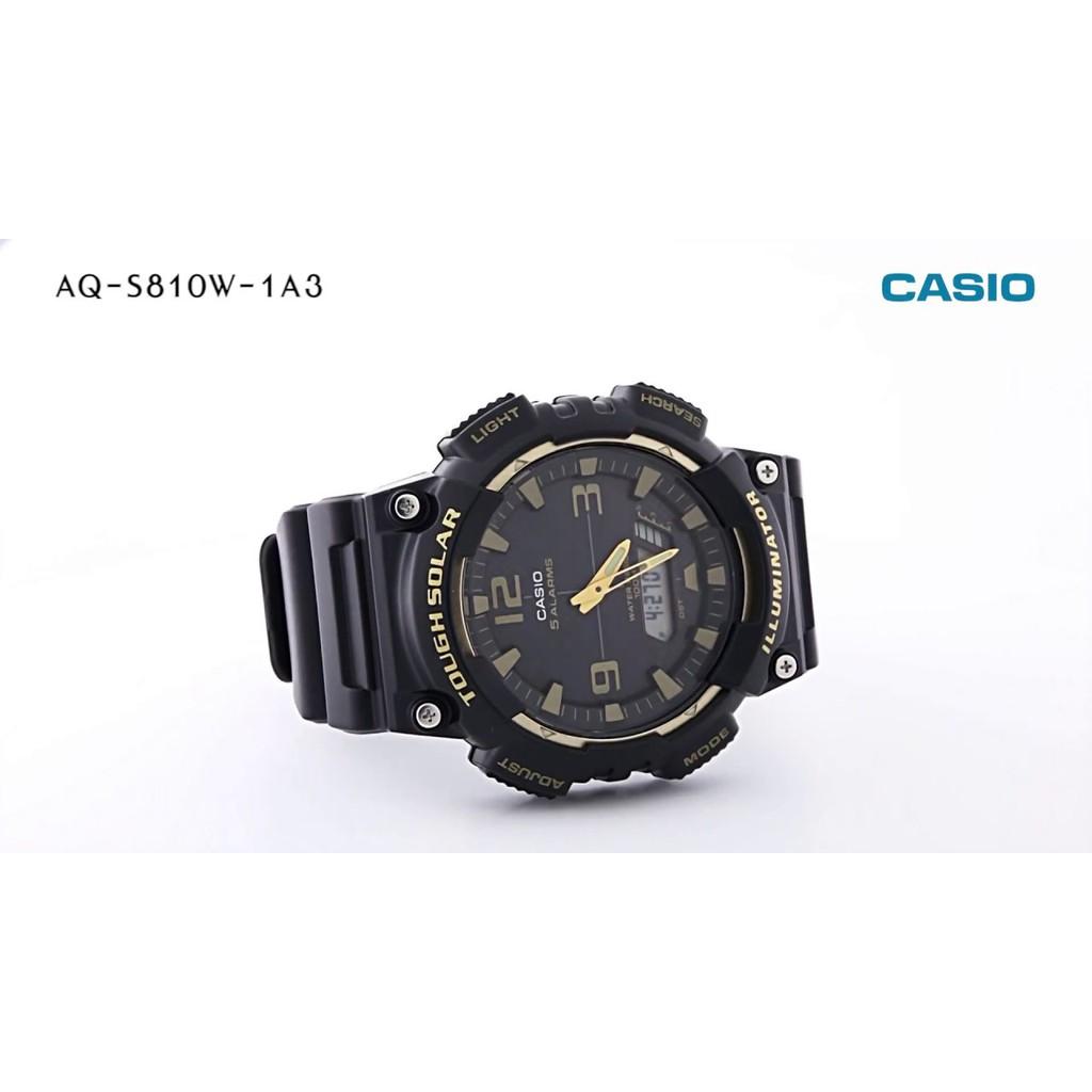 [Mã FARSBRT52 giảm 20% đơn từ 249K] Đồng hồ nam Casio Anh Khuê AQ-S810W-1A3VDF