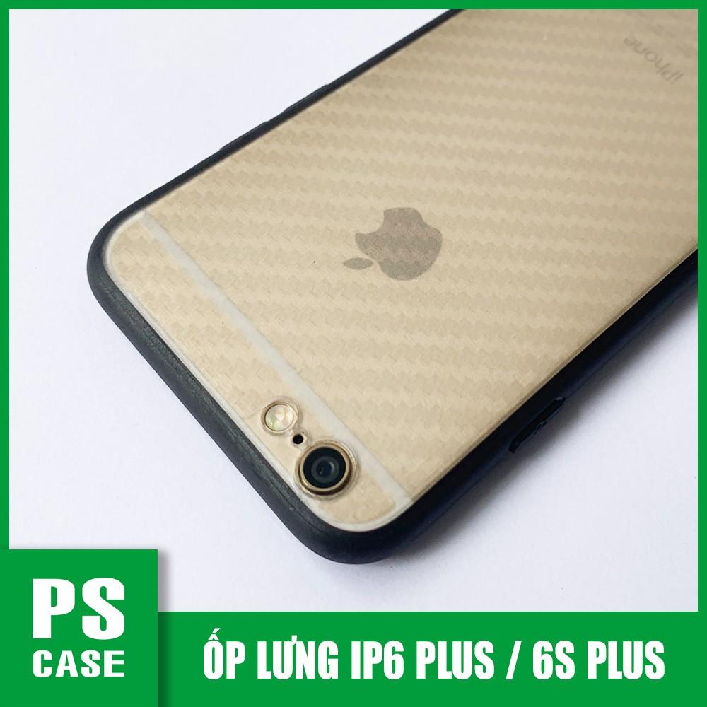 Ốp lưng iPhone 6 Plus, iPhone 6s Plus, viền dẻo đen cao cấp - PS Case phân phối