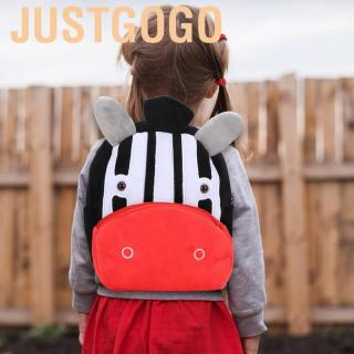 Justgogo Light animal children cartoon pattern outdoor school comfort bag child baby backpack