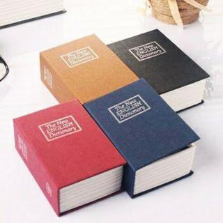 Két sắt ngụy trang hình cuốn sách
