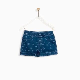 Quần Shorts M.D.K Bé Gái - Knit Denim Shorts M.D.K