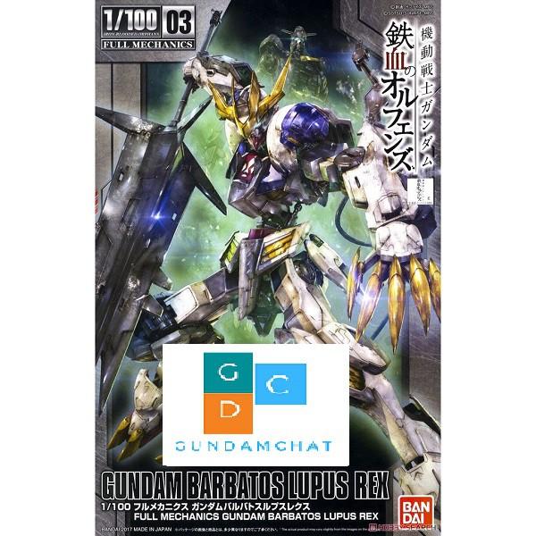Mô Hình Lắp Ráp Gundam Bandai 1/100 Barbatos Lupus Rex - Mô hình GDC