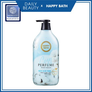 Sữa Tắm Cao Cấp Hàn Quốc HAPPY BATH Body Wash - Cozy Cotton Daily Beauty Official