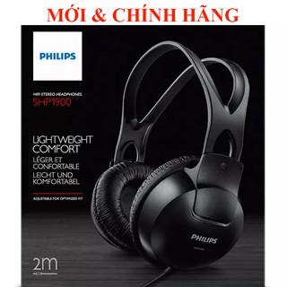 [Mã ELFLASH5 giảm 20K đơn 50K] Tai nghe Bass mạnh Treble trong Philips SHP1900/10