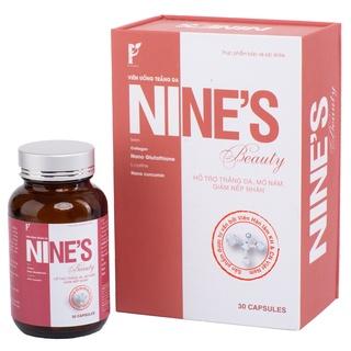 Viên Uống Nines Beauty TRẮNG DA, MỜ NÁM, GIẢM NẾP NHĂN