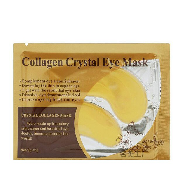 Mặt nạ mắt collagen Vàng dưỡng ẩm trị thâm bọng mắt và vùng thâm dịu nhẹ từ Hàn Quốc