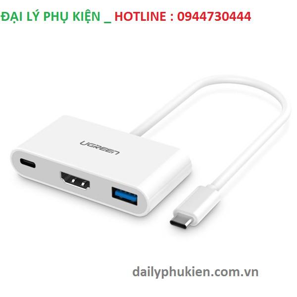 Cổng chuyển USB Type C 3.1 sang USB 3.0 và HDMI Macbook 2015 Ugreen 30377 - 2974416 , 606623436 , 322_606623436 , 1090000 , Cong-chuyen-USB-Type-C-3.1-sang-USB-3.0-va-HDMI-Macbook-2015-Ugreen-30377-322_606623436 , shopee.vn , Cổng chuyển USB Type C 3.1 sang USB 3.0 và HDMI Macbook 2015 Ugreen 30377