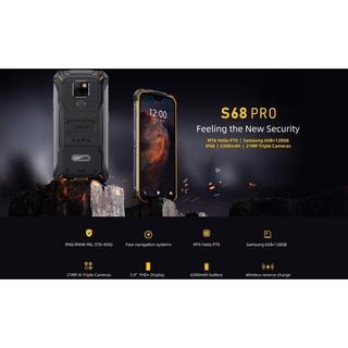 Điện thoại Doogee S68 Pro (chống nước,chống va đập,Ram 6gb,Rom 64Gb,pin 5.180 mAh) thumbnail
