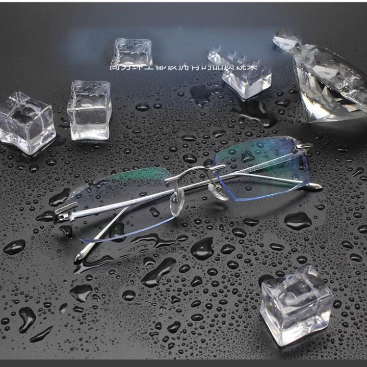 Kính cận titanium piterson đính đá