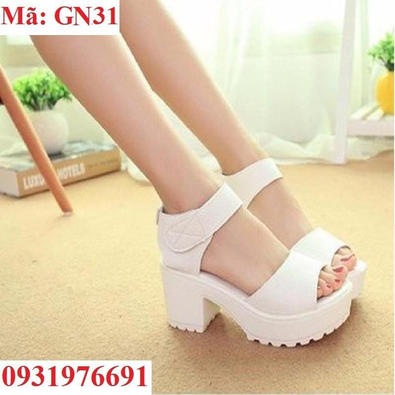 Giày sandal đế cao 5cm nữ - GN31 - 2859867 , 72285317 , 322_72285317 , 245000 , Giay-sandal-de-cao-5cm-nu-GN31-322_72285317 , shopee.vn , Giày sandal đế cao 5cm nữ - GN31