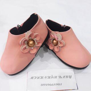 Giày boot hoa bé gái thumbnail