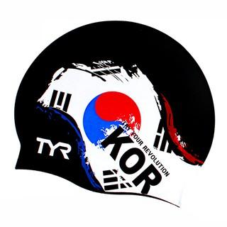Nón bơi người lớn TYR cờ KOREA TCR002 Silicone Cap