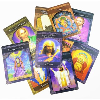 Aiary Ascended Masters Cards Tarot Cards Board Games Cards