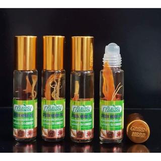 [HOT] [HOT] Combo 6 chai dầu lăn nhân sâm GREEN HERB OIL 8ml Thái Lan [MUA NGAY] thumbnail