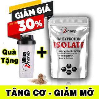 COMBO 2 túi Sữa Tăng Cơ Giảm Mỡ – Whey Protein Isolate NZMP + Tặng bình lắc Shaker