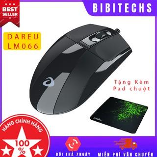 Dareu 🔥FREESHIP🔥 - Chuột máy tính Dareu LM066 - Gaming usb - Bảo hành 24 tháng chính hãng Mai Hoàng - BiBiTechs