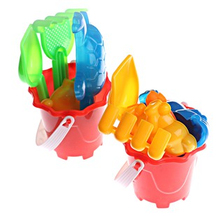 1Set Beach Sand Tools Toys Bucket Set For Toddler Kids Children Outdoor Toys