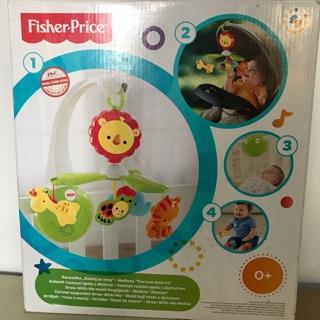 Đồ chơi treo nôi vườn thú thương hiệu Fisher price