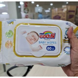 Khăn Ướt Goon Premium Không Mùi 80 Tờ Hàng Thái Lan (Có Nắp) thumbnail