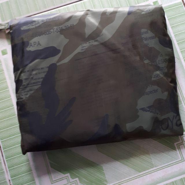 Áo mưa VẢI DÙ Capo quân đội Mỹ siêu nhẹ chống nước cao cấp