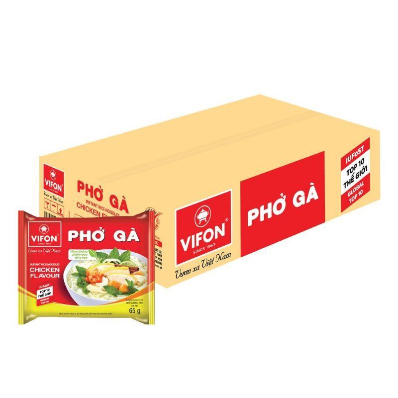 Thùng 30 gói  phở gà Vifon