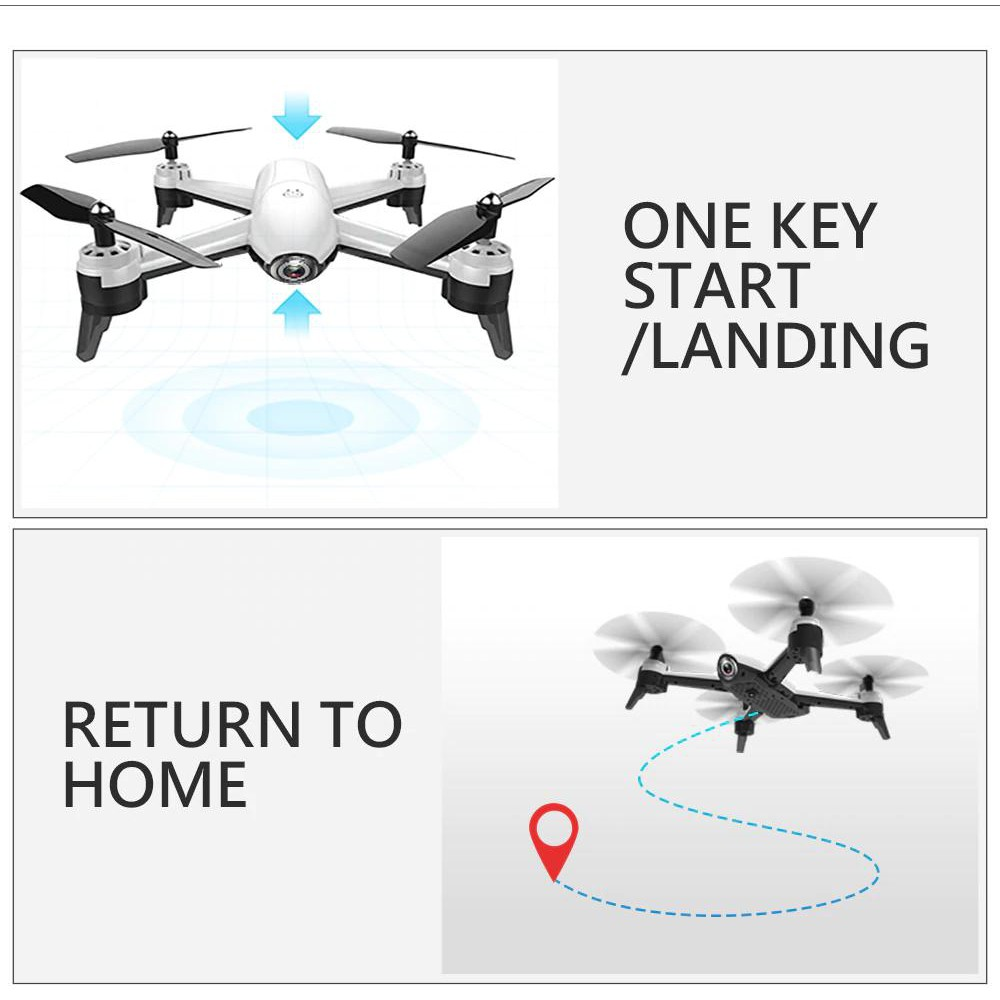 Combo Flycam Drone SG106 4K + Pin phụ