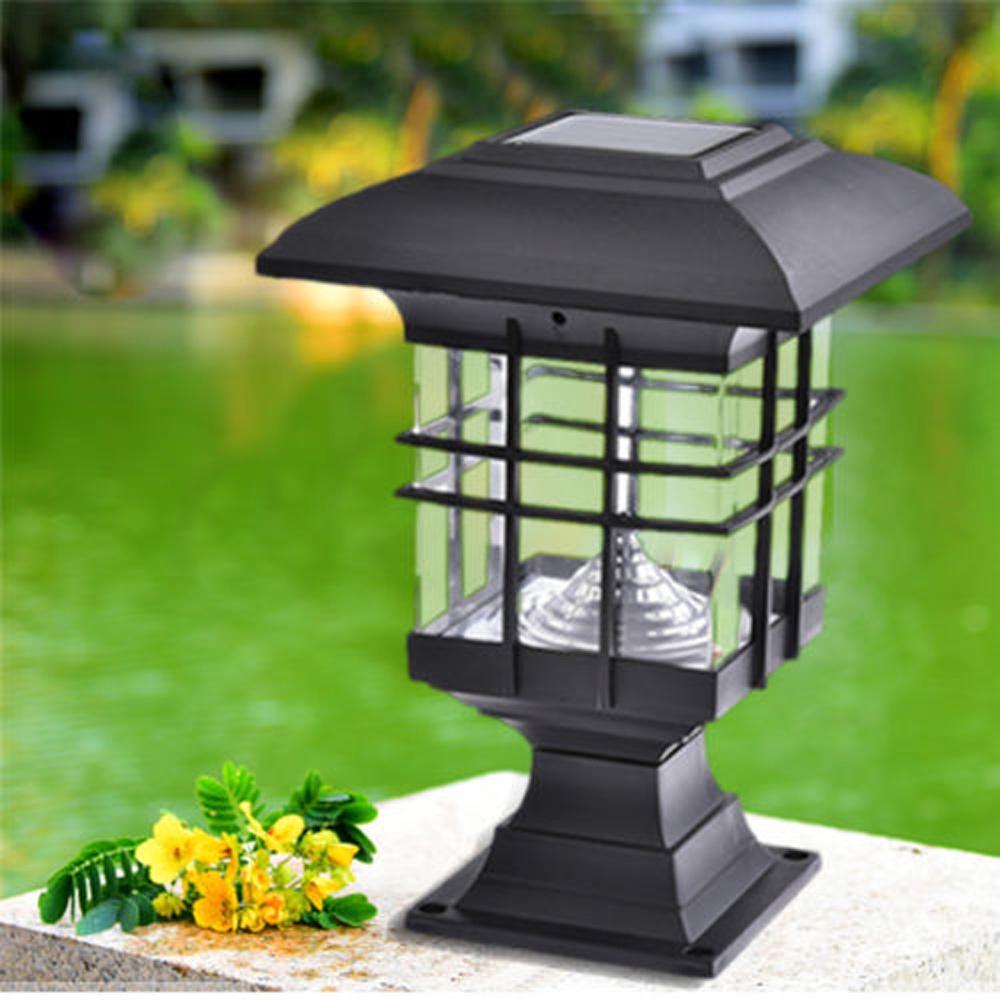 2V Solar Powered LED Light Patio Garden Path Landscape Fence Yard Lamp Lighting