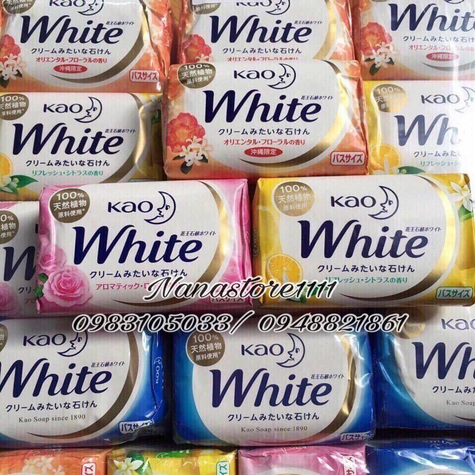 Xà phòng bánh Kao White