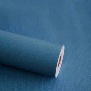 Yêu Thích10M giấy dán tường màu nhám xanh đậm keo sẵn khổ 45 cm