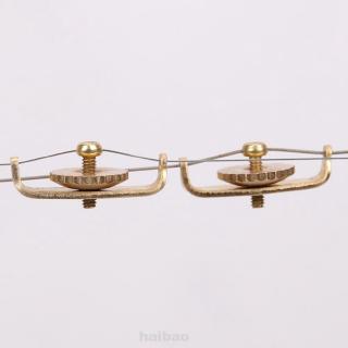 1pair Copper Erhu Trimmer High Grade Instrument Manual Durable Musical Accessories Urheen Tuners