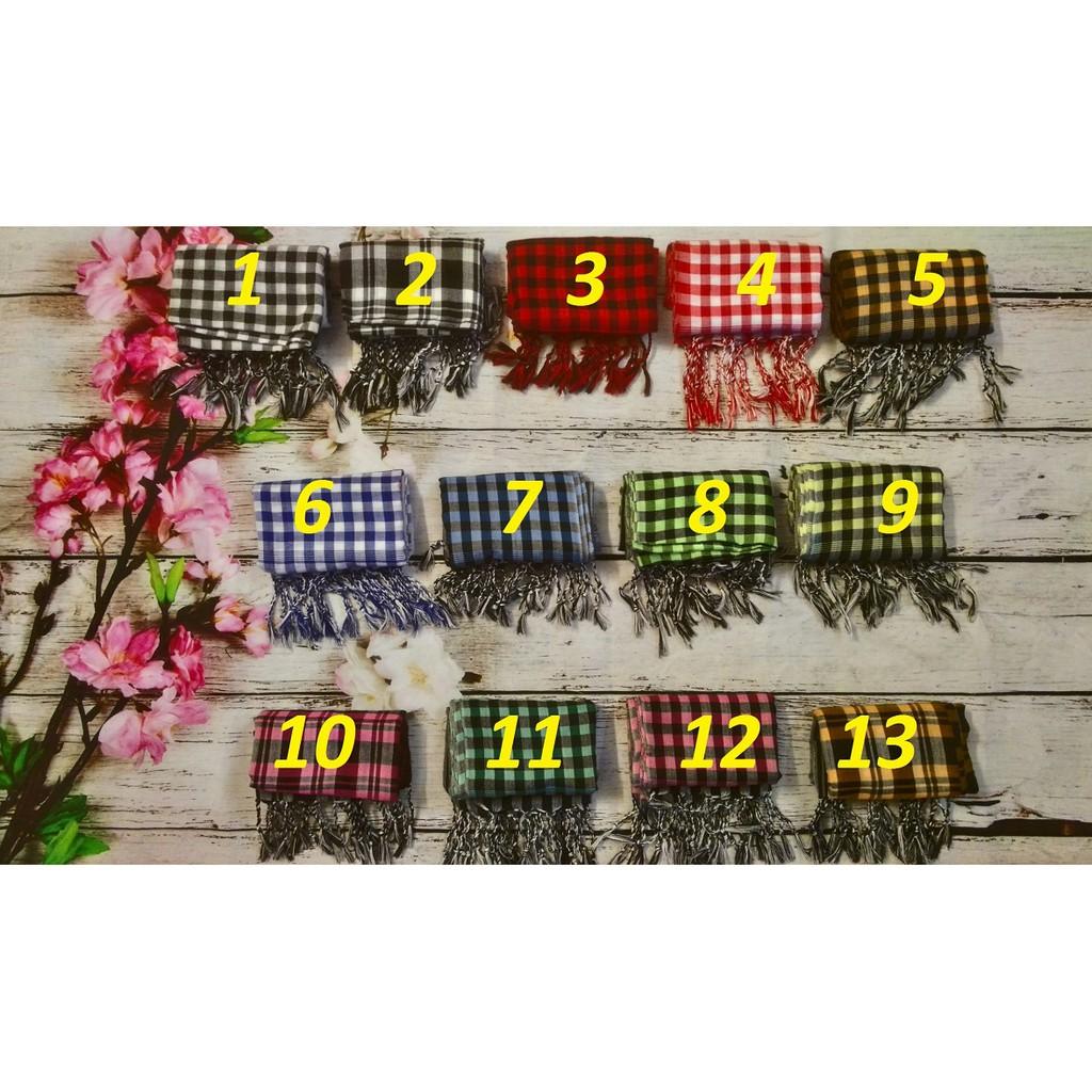 [GIÁ SỈ] Khăn rằn Campuchia 170x60cm – hàng chuẩn – CHÚ Ý phân biệt với khăn rằn Nam Bộ