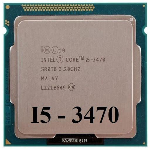 CPU Intel Core i5 3470 Socket 1155 Chính Hãng - Bảo hành 03 Tháng 1 đổi 1 -  Có tặng keo tản nhiệt   Shopee Việt Nam