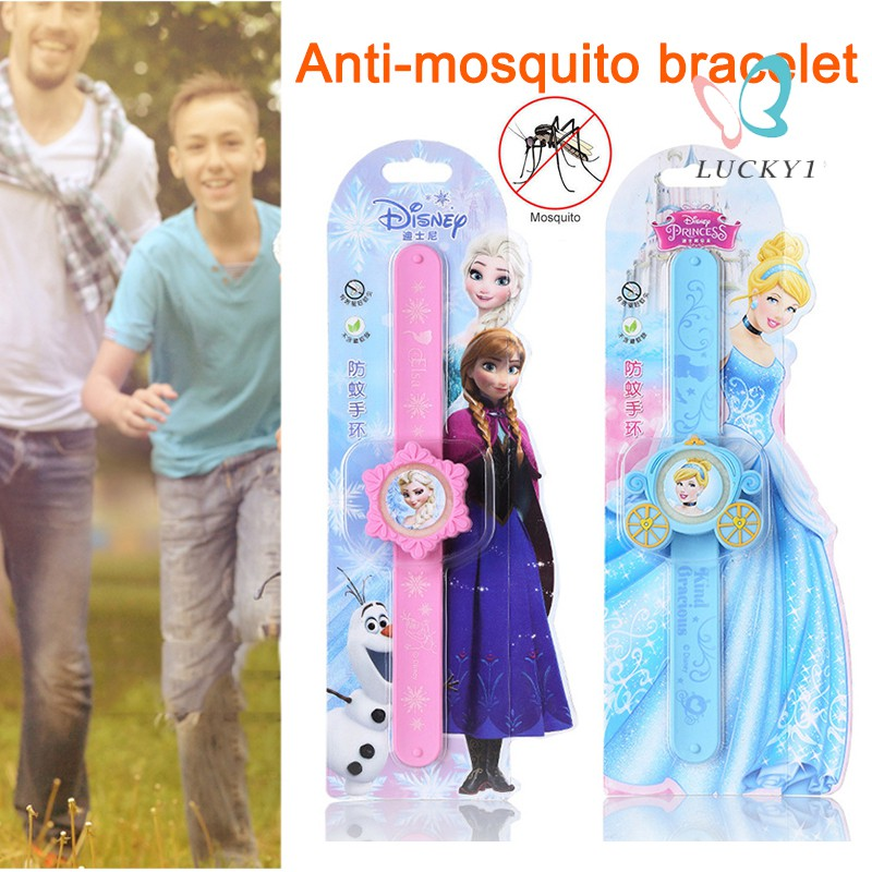 Disney Chrildren's Mosquito and Insect Repellent Bracelet Silicone Wristband